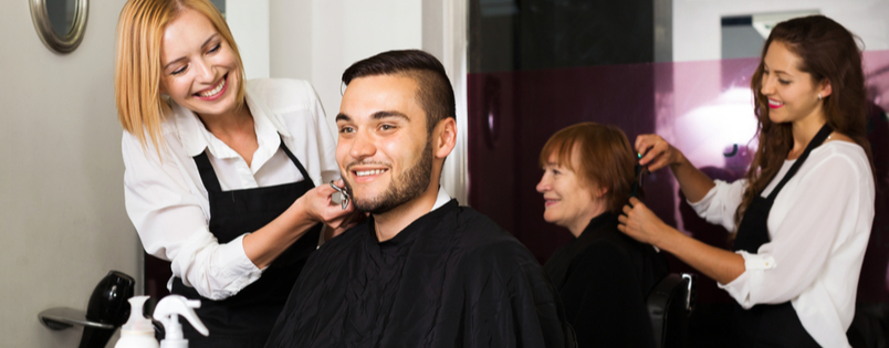 Should hairdressing salons offer free haircut for training?